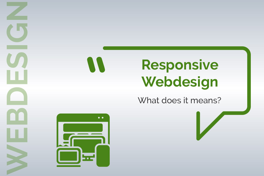 Responsive design means