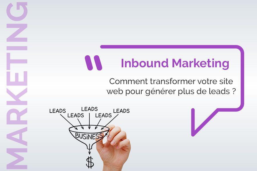 generer des leads avec l'inbound marketing