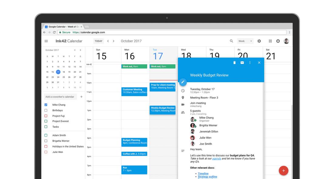 Google Meet Details