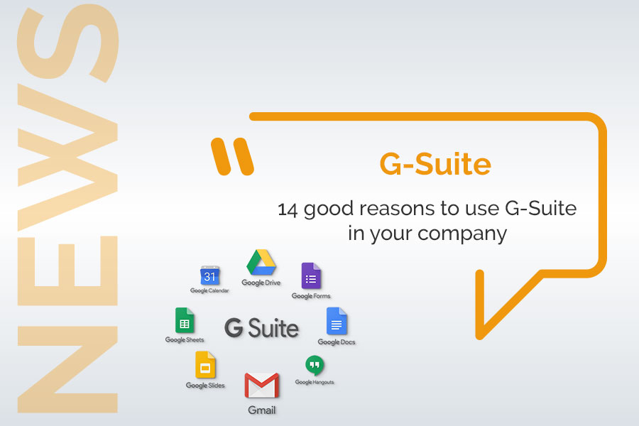 Use G-Suite in your company