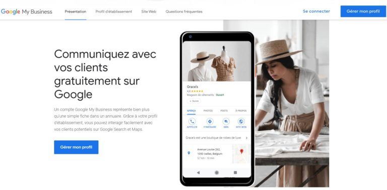 creation compte google my business