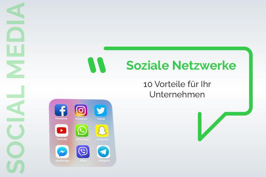 Soziale Netzwerke: Vorteile für Ihr Unternehmen?