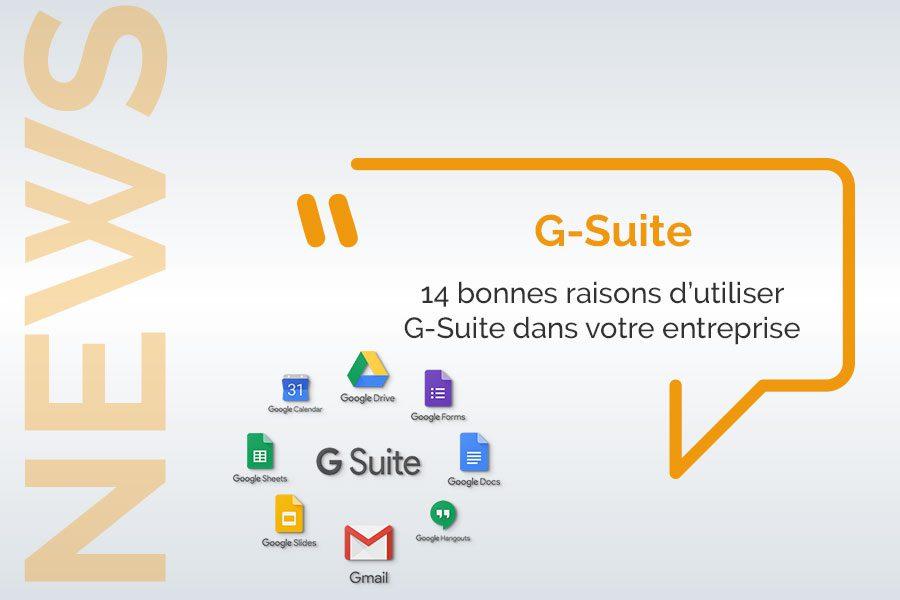 Decouvrez G-Suite