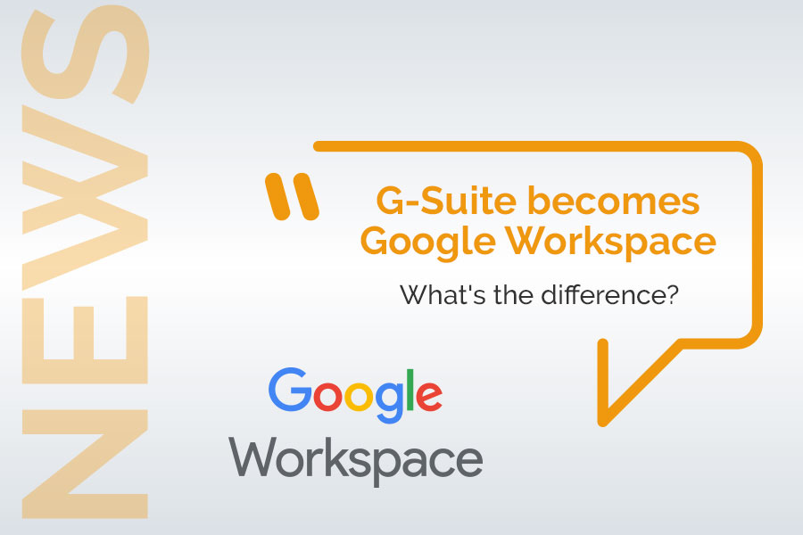 G-Suite becomes Google Workspace