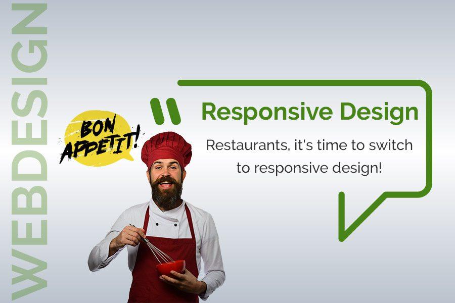 Restaurants responsive design!