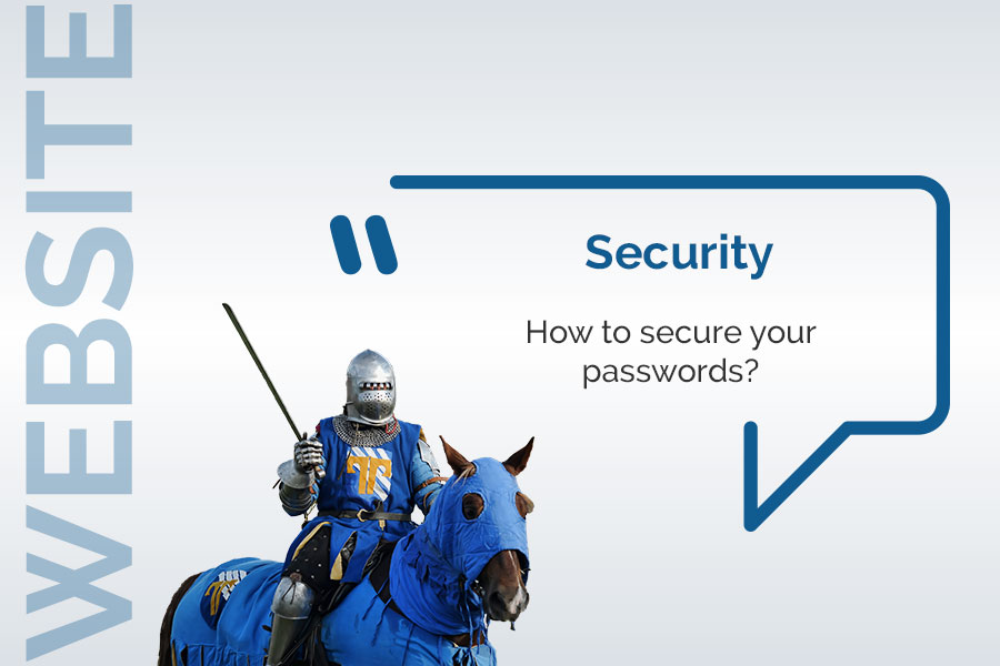 How to secure your passwords